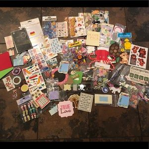 Other - Huge scrapbooking craft lot